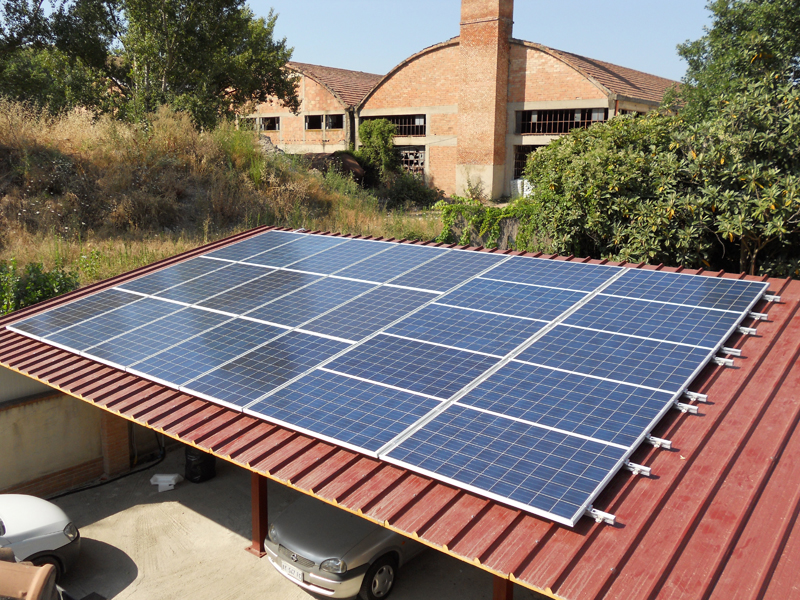 You are browsing images from the article: Impianto Fotovoltaico Civile da 5,87 kwp su pensilina